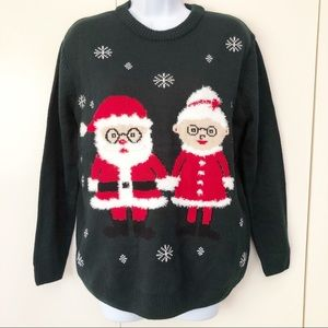 Forever 21 Womens Sweater Ugly Christmas Small